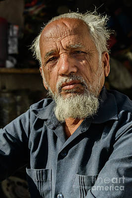 Photograph - Faces Of Jodhpur 05 by Werner Padarin