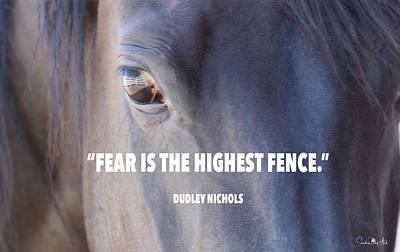 Digital Art - Facing Fear by Sandra Day