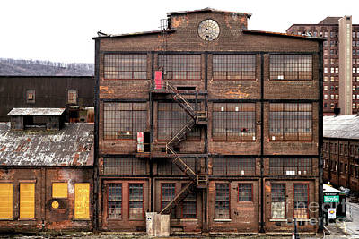 Photograph - Factory At Bethlehem Steel by John Rizzuto