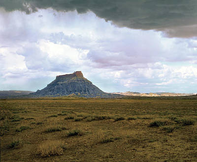 Factory Butte Art Print