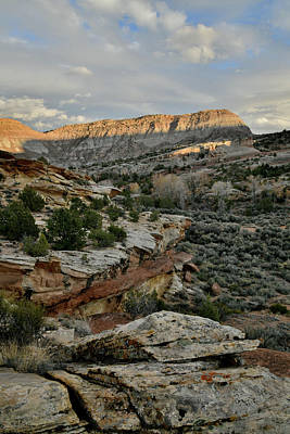 Photograph - Fading Light From Rim Rock Drive by Ray Mathis