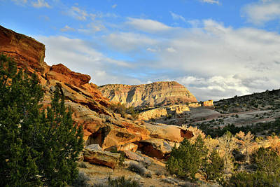 Photograph - Fading Light On East Colorado National Monumenrt by Ray Mathis