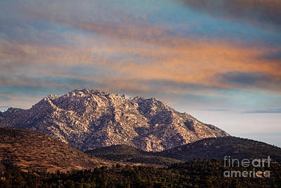 Photograph - Fading Light On Granite Mountain by Scott Kemper