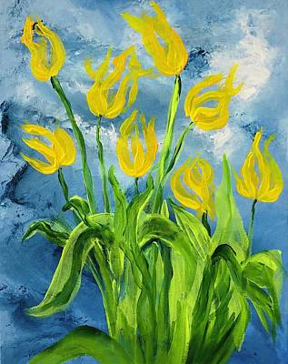 Painting - Fading Spring by Christina Schott