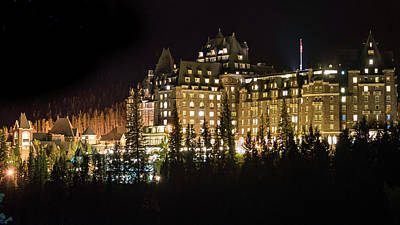 Photograph - Fairmont Banff Springs Hotel by Tim Kathka