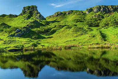 Photograph - Fairy Glen, Isle Of Skye by David Ross