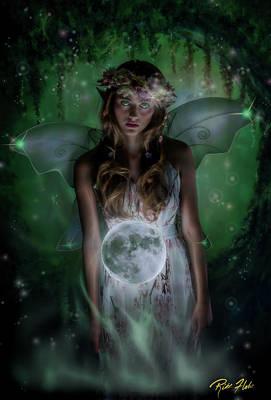 Photograph - Fairy Moon by Rikk Flohr