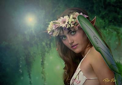 Photograph - Fairy Stare by Rikk Flohr