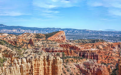 Photograph - Fairyland Canyon At Bryce by John M Bailey