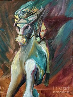 Painting - Faithful And True by Lisa DuBois