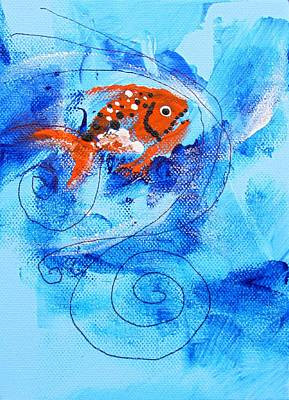Fake Nemo Fish Art Print