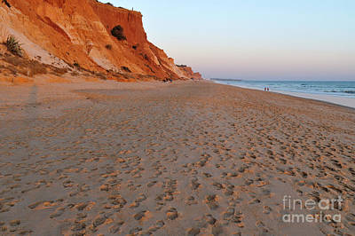 Photograph - Falesia Beach In Albufeira by Angelo DeVal