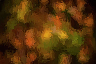 Digital Art - Fall Abstract  by Bill Posner