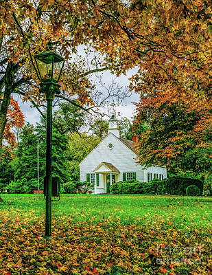 Photograph - Fall At A Church by Nick Zelinsky