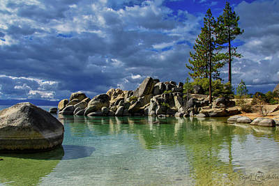 Photograph - Fall At Sand Harbor by Steph Gabler