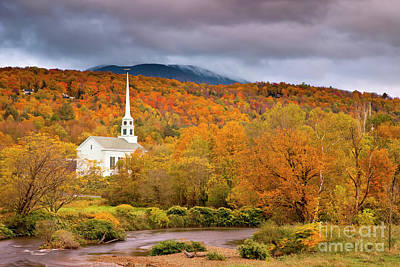 Photograph - Fall Church by Brian Jannsen