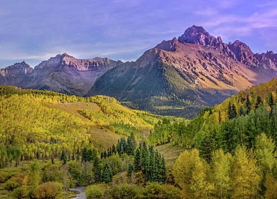 Photograph - Fall Color In The San Juan Mountains by James Woody