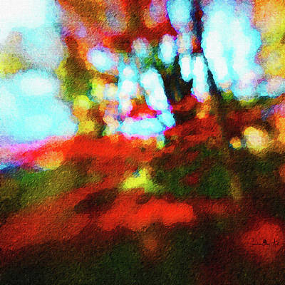 Digital Art - Fall Color by Sandra Day