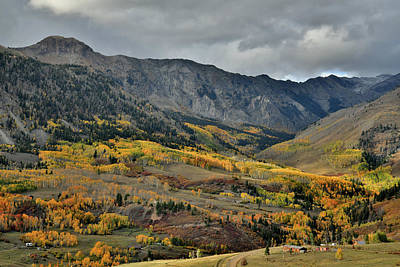 Photograph - Fall Colors Along Last Dollar Road Near Telluride by Ray Mathis