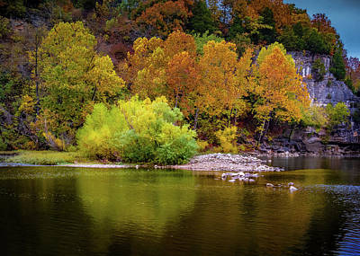 Photograph - Fall Colors Of The Ozarks by Allin Sorenson