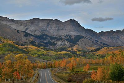 Photograph - Fall Comes To Mountain Village Above Telluride by Ray Mathis