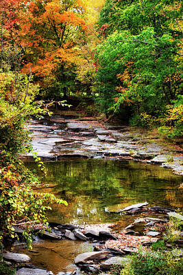 Fall Creek Art Print