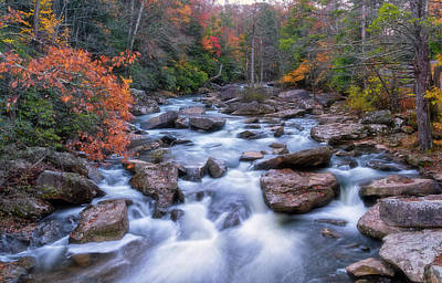 Photograph - Fall Flow by Russell Pugh