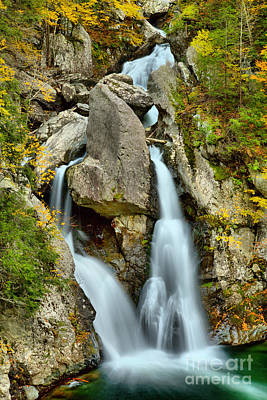 Photograph - Fall Foliage Around Bash Bish Falls Canyon by Adam Jewell
