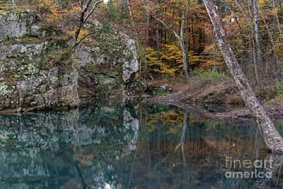 Photograph - Fall In The Ozarks by Joe Sparks