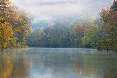 Photograph - Fall On Richland Creek by Eilish Palmer
