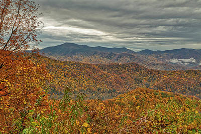 Photograph - Fall Overlook by Meta Gatschenberger