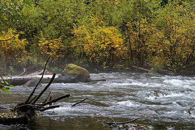 Photograph - Fall River Memories by Steven Clark