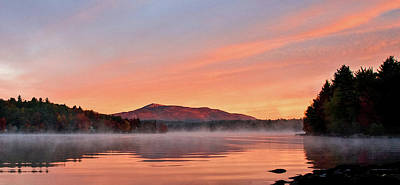 Photograph - Fall Sunrise On Mount Monadnock by Gordon Ripley