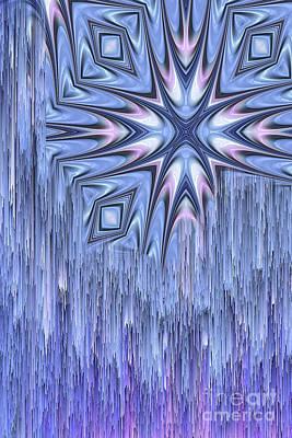 Fantasy Digital Art - Falling Star by John Edwards