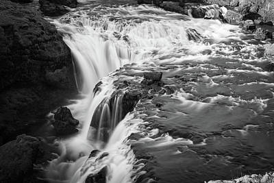 Photograph - Falling Water On The Skoga River by James Udall