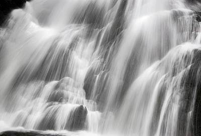 Photograph - Falling Waters - Abbey Cascades by Gordon Ripley