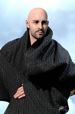 Storytellers Wall Art - Digital Art - False Bald Prophet by Joaquin Abella