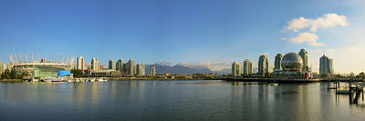 Photograph - False Creek Panorama by Dave Matchett
