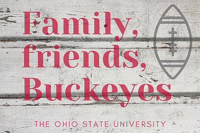 Maps Maps And More Maps - Family Friends Buckeyes by Aaron Geraud