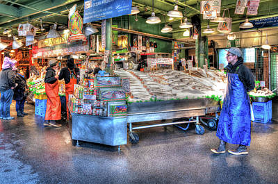 Photograph - Famous Fish Market by Spencer McDonald