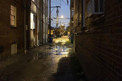 Photograph - Fan Alleyway In Rva by Doug Ash