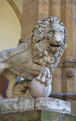 Photograph - Fancelli's Ancient Lion by JAMART Photography