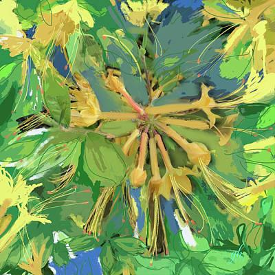 Digital Art - Fanfare by Gina Harrison