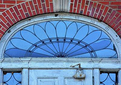 Photograph - Fanlight Transom Window by Lisa Wooten