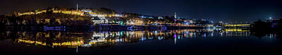 Photograph - Fantastic Belgrade Night Reflection by Dejan Kostic