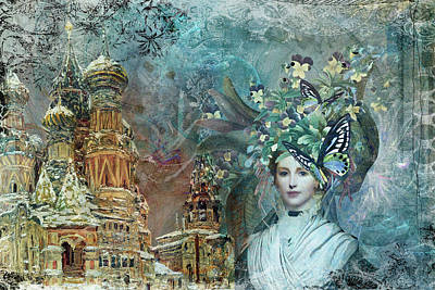 Digital Art - Fantasy 1 by Jacqui Boonstra