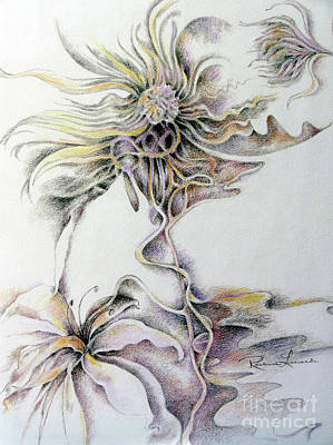 Drawing - Fantasy by Rosanne Licciardi