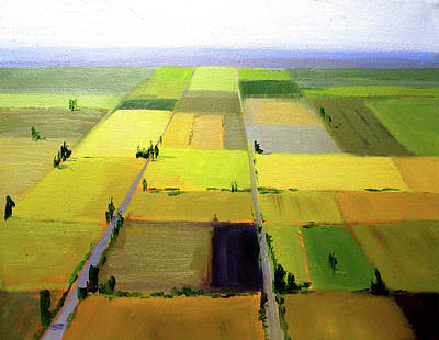 Farm Country Landscape Original