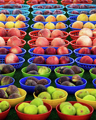 Royalty-Free and Rights-Managed Images - Farm Fresh Fruit by Peter Tellone
