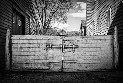 Photograph - Farm Gate by Steve Stanger